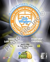 Lady Volunteers, Tennessee - 2008 NCAA Final Four Women's Logo Photo Fine Art Print