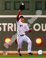 "Jacoby Ellsbury 2008 Fielding Action by Daphne Brissonnet - 8"" x 10"""