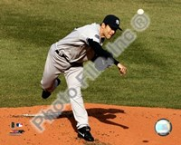 "Mike Mussina 2008 Pitching Action by Daphne Brissonnet - 10"" x 8"""