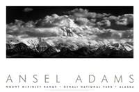 Mt. McKinley Range (embossed) Fine Art Print