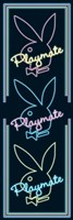"Playboy - Playmate Triple by Daphne Brissonnet - 21"" x 62"""