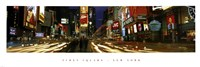 "Times Square, NYC by Daphne Brissonnet - 36"" x 12"""