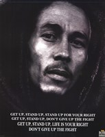 Bob Marley Get Up Stand Up Wall Poster