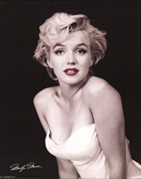 Marilyn Monroe - Red Lips Wall Poster