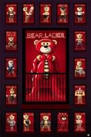 Bad Taste Bears - Red Light Wall Poster