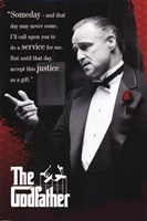 The Godfather - Someday Wall Poster