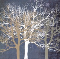 """Tranquil Trees by Erin Clark - 16"""" x 16"""""""