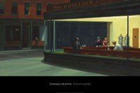 Nighthawks, 1942 Framed Print