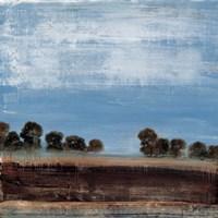 Blue Tree Line Fine Art Print