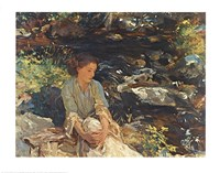 Black Brook Fine Art Print