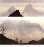 "Mei Shan by Robert Charon - 35"" x 37"""