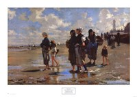 Oyster Gatherers of Cancale Fine Art Print