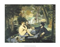 Luncheon on the Grass by Edouard Manet - various sizes