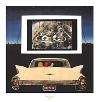 "Drive In by KC Haxton - 27"" x 28"""