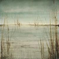 Blue Tranquility II Framed Print