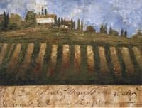 """Rustic Tuscany by Liz Jardine - 40"""" x 30"""""""