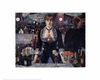 Bar at the Folies Bergere Fine Art Print