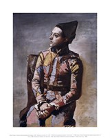 Portrait of a Harlequin Fine Art Print