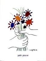 Main Aux Fleurs Fine Art Print