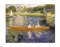 Boating on the Seine Fine Art Print