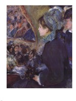 At the Theatre (La Premiere Sortie) by Pierre-Auguste Renoir - various sizes