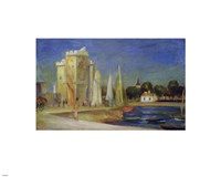 Port de la Rochelle Fine Art Print
