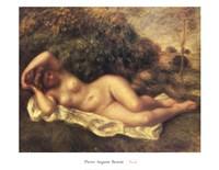 "Nude by Pierre-Auguste Renoir - 36"" x 28"""
