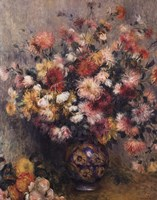 Dahlias by Pierre-Auguste Renoir - various sizes - $17.49