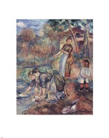 The Washer-Women, c.1889 Fine Art Print