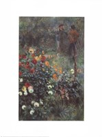 The Garden in the Rue Corot Fine Art Print