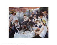 "Luncheon of the Boating Party, 1881 by Pierre-Auguste Renoir, 1881 - 20"" x 16"", FulcrumGallery.com brand"