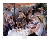Le Dejeuner des Canotiers Fine Art Print