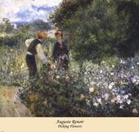 Picking Flowers Fine Art Print