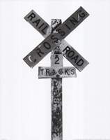 Railroad Crossing Fine Art Print