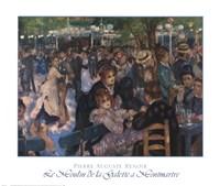 Le Moulin de la Galette a Montmartre Fine Art Print