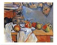 """Fruit by Paul Cezanne - 28"""" x 22"""""""