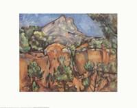 Mount Sainte-Victorie, c.1904 Fine Art Print