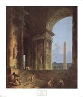 Obelisk, 1787 Fine Art Print