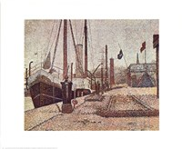 Maria At Honfleur Fine Art Print