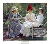 Three Sisters Fine Art Print