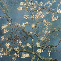 Blossoming Almond Tree, Saint-Remy, c.1890 Fine Art Print