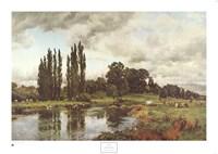 Bredon-on-the-Avon Fine Art Print