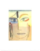 "Head with Open Eyes by Alexei Von Jawlensky - 16"" x 20"", FulcrumGallery.com brand"
