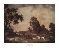 Fox Hunting in Full Cry Fine Art Print