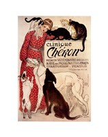 Clinique Cheron by Theophile-Alexandre Steinlen - various sizes