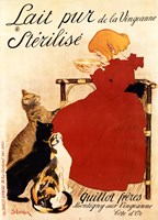 Lait Sterilise by Theophile-Alexandre Steinlen - various sizes