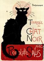 Tournee du Chat Noir Framed Print