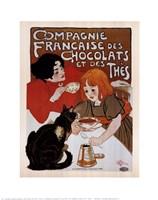 Compagnie Des Chocolats Et Des Thes Fine Art Print