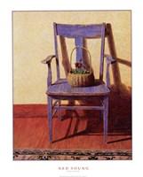 Blue Chair Fine Art Print