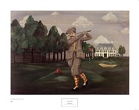 Teeing Off Fine Art Print